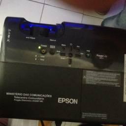 Projetor da Epson Power lite s5+