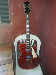 Guitarra lespol com outra capitação da guitarra epiphone modelo sg