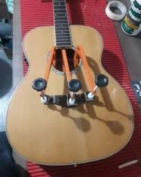 Colagem de cavalete de violão Luthier Contagem