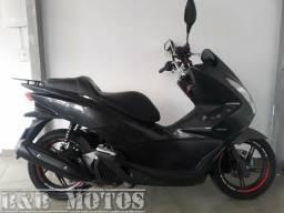 HONDA PCX 150 2016 CINZA n BURGMAN CITYCON MOTO LINDA - 2016