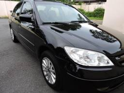 Honda Civic LXL 2005/2005 preto/impecável/econômico - 2005