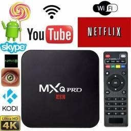 Transforme sua Tv em Smart, Tv Box Mx9, 16gb