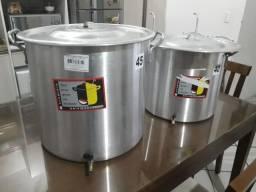 Kit para fabricação de cerveja artesanal