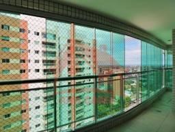 Apartamento com 4 suítes fino acabamento Adrianópolis super luxo
