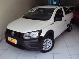 Volkswagen Saveiro Robust CS 1.6 Flex ano 2019 Branca Completa - 2019