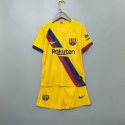 Kit Infantil Barcelona Away 2019/2020