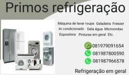 Primos refrigeração