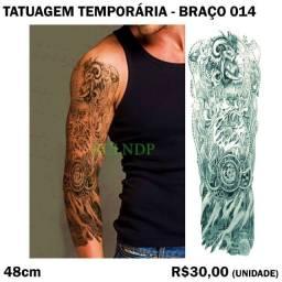 Bode - Tatuagem de Braço Temporária - Modelo 14