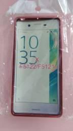 Capa rígida espelhada p/celular Sony Xperia X