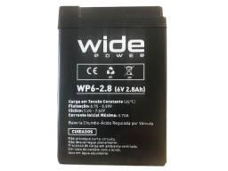 Bateria Selada 6V 2.8Ah Recarregável/Multiuso- Balanças, Alarmes etc.*Nova