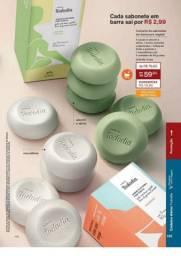 Kit sabonete cojunto com 4 caixas natura tododia de 59,80 por 58.00 cartão ou avista55,80