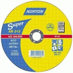 Disco De Corte 7x1/8x7/8 Norton Ar312 Promoção