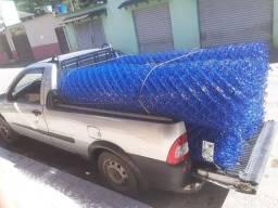 Alambrado Revestido em PVC Azul!
