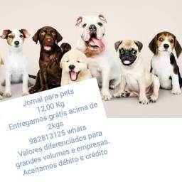 Jornal para pets
