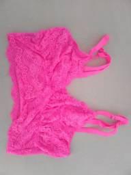 Top rosa neon