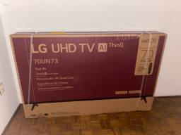 Tv LG 70 polegadas Nova