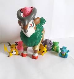 COMBO Pokémon Gogoat + Pikachu + Raichu + 5 dedoches !!