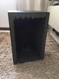 Cabine acústica para gravação
