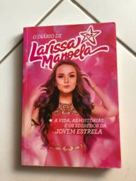 Livro O diário de Larissa Manoela