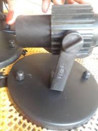 Kit 4 Spot Articulado Pretos