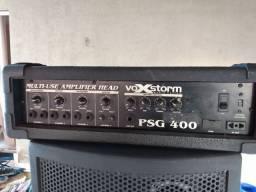 Cabeçote amplificador + caixas oversond