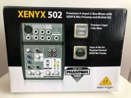 Mesa De Som Behringer Xenyx 502 (NOVA)