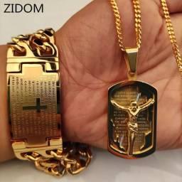 Corrente e Bracelete para Deus