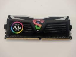 Memória DDR4 Geil Super Luce RGB, 8GB, 3200MHZ