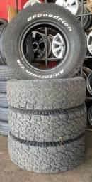 Título do anúncio: Jogo pneus recapados 265/70/16