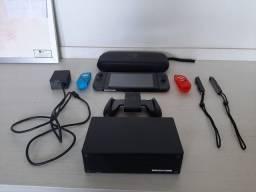 Nintendo Switch versão 2 com bateria estendida + acesssorios - Semi novo pouco uso