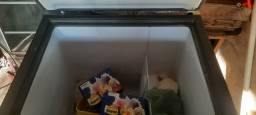 Freezer consul horizontal 1 porta semi novo 1.700