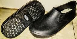 Sapato Antiderrapante Feminino Cozinha, 36, Soft Working