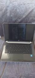 Notebook hp pavilion 14-n010br i3 6 ram