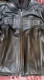 Harley Davidson jaqueta tam. 2XL = GGG com colete