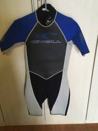 Sleeave short Oneill roupa de mergulho sem uso