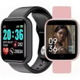 Smartwatch d20 pro, coloca foto na tela, compatível com IOS e Android.