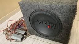 Caixa de som Bomber One + Amplificador