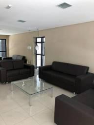 Apartamento quarto e sala com piscina, 39m² localizado na Ponta Verde
