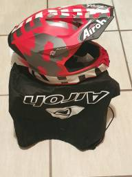 Capacete Airoh Twist 2.0 Frame Red (1 Trilha)