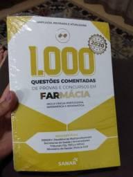 Livro 1.000 Questões Comentadas de Farmácia