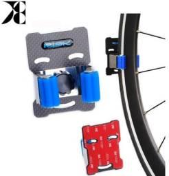 Suporte Parede Fibra Carbono Mtb Speed Bike Vertical/horizontal