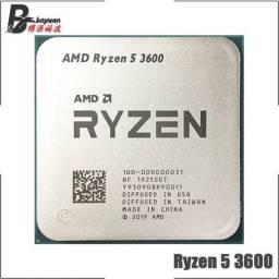 Título do anúncio: Processadores Ryzen AMD 5 3600 / 3500x - Novos - Entrego e Aceito Cartões