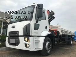 Título do anúncio: Ford Cargo 1723 2016 com Munck Madal 15T(Goiânia)
