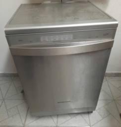 Título do anúncio: Máquina de lavar louça cinza grande