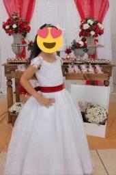 Vestido de Dama noivinha.