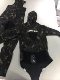 Vendo roupa de mergulho/caça sub