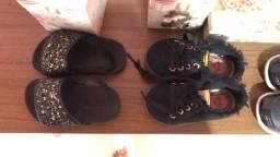Vendo sandálias e sapatos semi novo