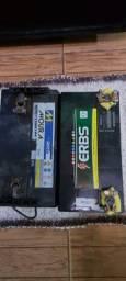 Título do anúncio: Uma bateria 100 amperes outra de 105 amperes   na troca  200 sem troca 300 todas duas filé