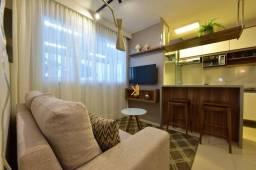 Apartamento com 2 dormitórios à venda, 42 m² por R$ 148.000 - Conquista Eusébio - Tamatand