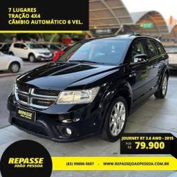 Título do anúncio: JOURNEY 2014/2015 3.6 RT AWD V6 GASOLINA 4P AUTOMÁTICO